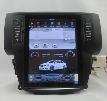 "10.4"" tesla style vertical screen android 8.1 Six core Car GPS radio Navigation for Nissan Sentra Pulsar Sylphy 2013-2016"