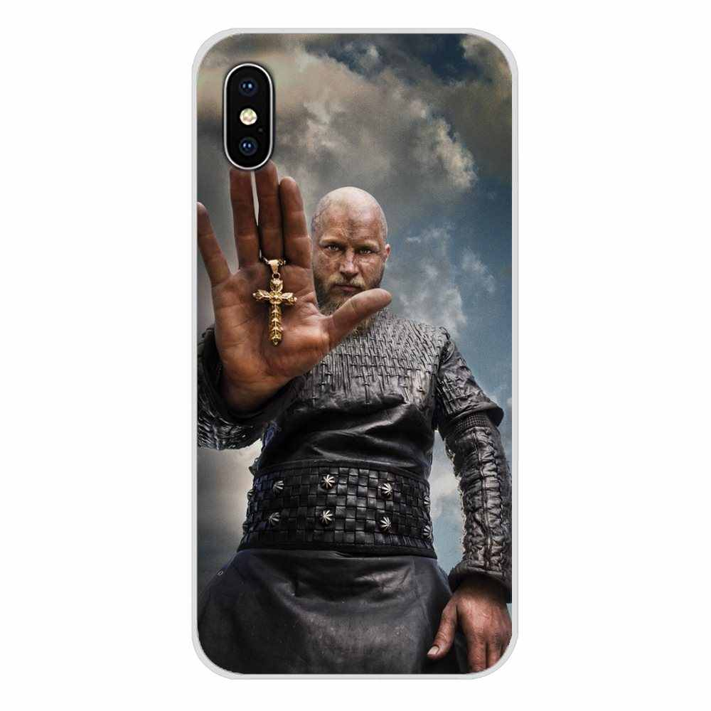 Para Samsung A10 A30 A40 A50 A60 A70 Galaxy Note 2 S2 3 Grande Núcleo Prime Ragnar Lothbrok Vikings Que Bling acessórios Telefone Caso Bag