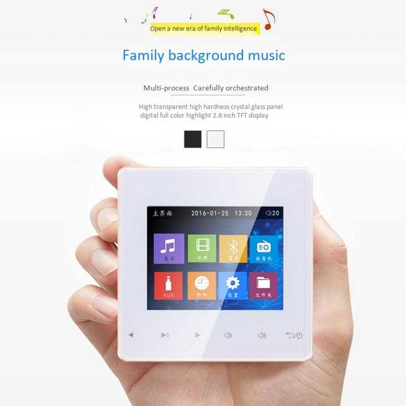 Bluetooth умная система управления музыкой потолочные модули динамиков домашняя аудиосистема цифровой стерео усилитель в стене для отеля