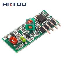 315M Receiver Module 315MHZ Frequency Wireless Receiver Module Super Regeneration board 315 MHZ(China)
