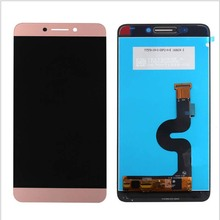 الأصلي ل لو LeEco ماكس 2 Max2 X820 X821 X822 X829 شاشة LCD عرض محول رقمي يعمل باللمس استبدال ل Letv x823 الذهب