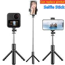 Bastão de selfie portátil bluetooth do tripé do telefone móvel para câmera dobrável mini smartphone selfie stick tripé monopé fotográfico