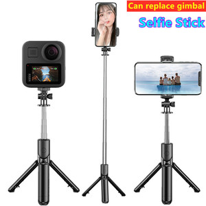 Image 1 - Mobile phone tripod portable bluetooth selfie stick for camera Foldable Mini smartphone selfie stick tripod photograph monopod
