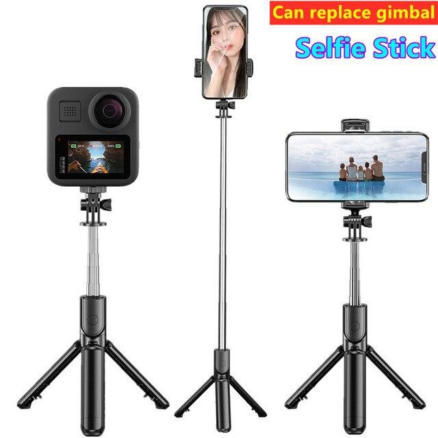 Mobile phone tripod portable bluetooth selfie stick for camera Foldable Mini smartphone selfie stick tripod photograph monopod