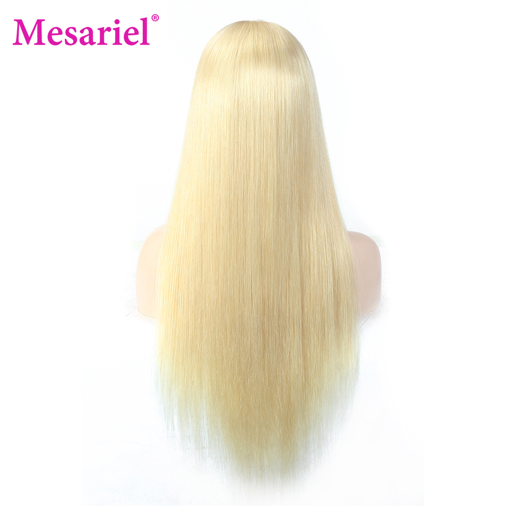 13x6 straight blonde lace front wig human hair (8)