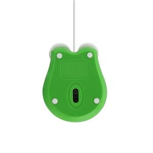 Милая мультяшная лягушка компьютерная мышь Проводная оптическая эргономичная мышь креативная 3D игровая мышь Высококачественная брендова...