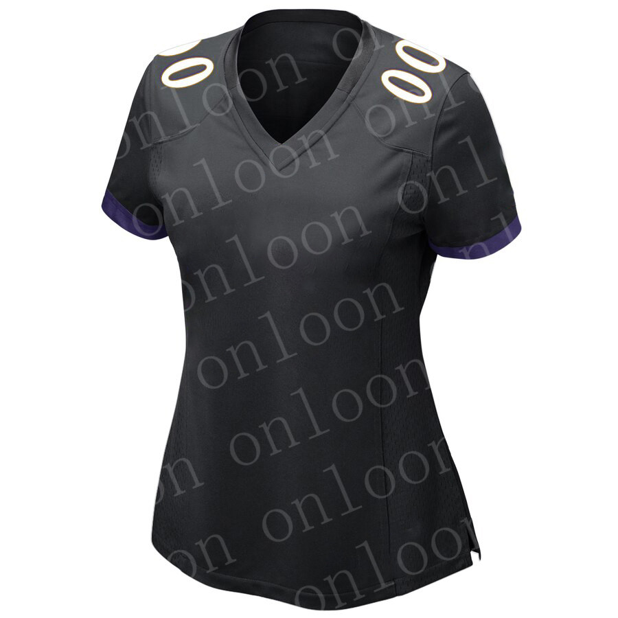 Womens 2020 New American Football Baltimore Sport Fans Wear Lamar Jackson Ed Reed Mark Andrews Justin Tucker Jerseys