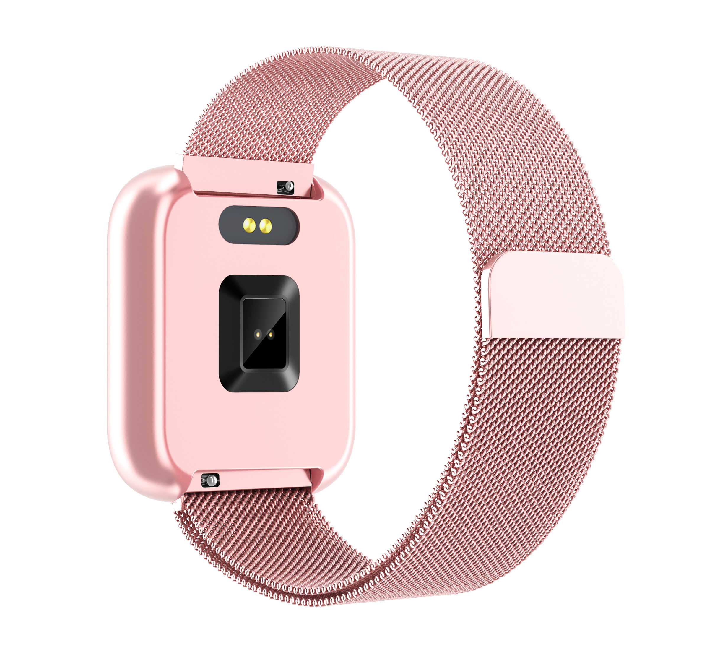 Smart horloge Vervanging band P68 P70 plus T80 Y6 pro armband Siliconen Band Roestvrij Staal Magnetische Band Voor Mannen vrouwen