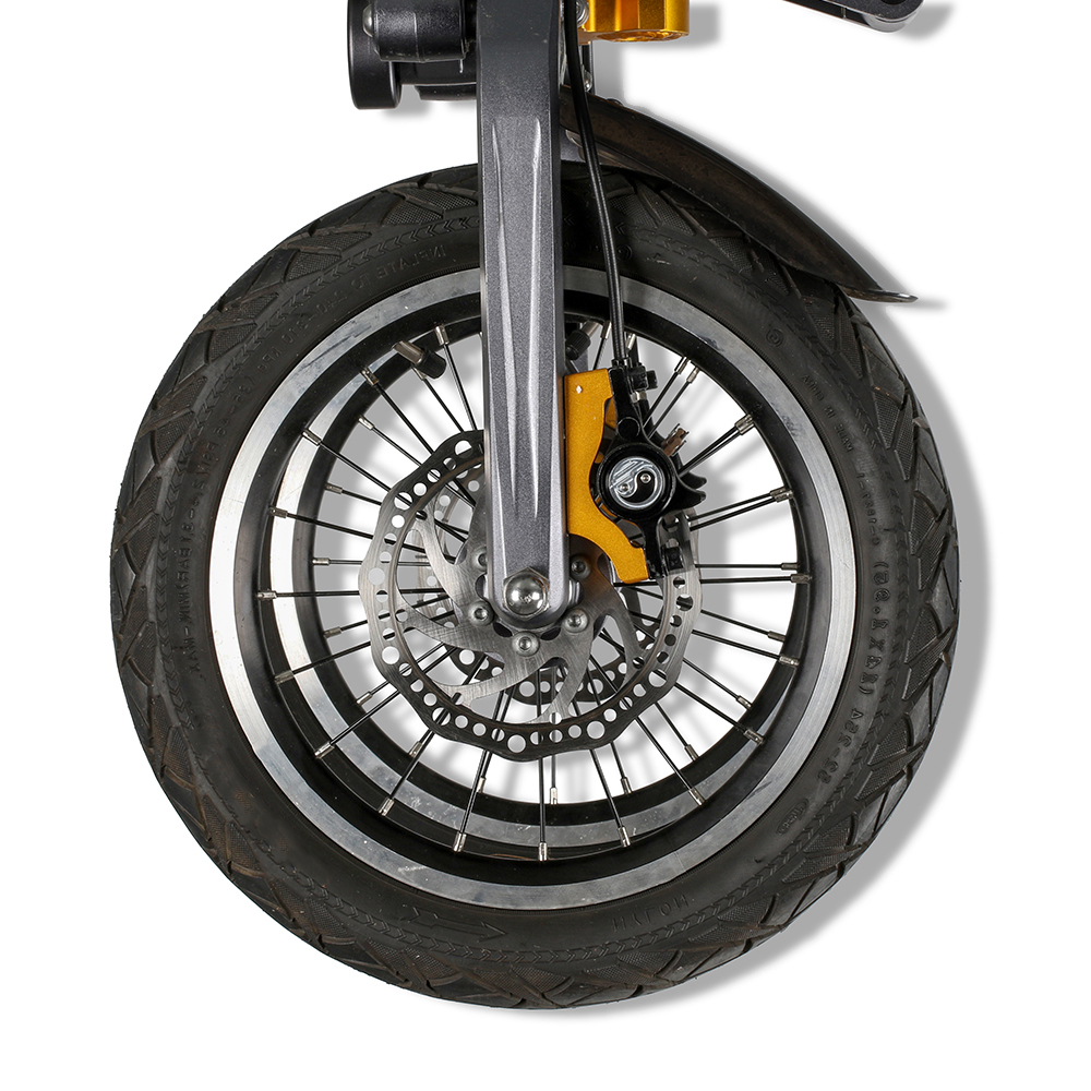 Excellent EcoRider E6-7 48V 2 Wheel Electric Motorcycle Great Electric Bicycle Christmas Gift for Kids Youth School Supplies 3