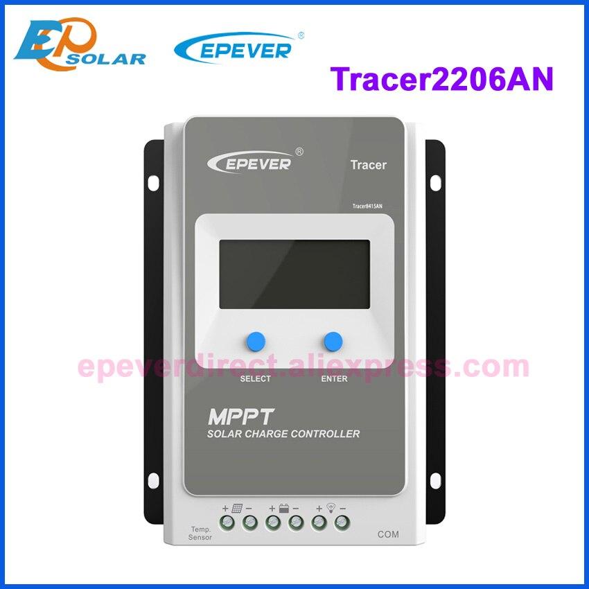 Tracer 1210AN 2210AN 3210AN 4210AN 10A 20A 30A 40A MPPT Контроллер заряда для фотоэлектрических систем 1210A 2210A 3210A 4210A ЖК-дисплей EPEVER регулятором солнечного заряда r - Цвет: Only 2206AN