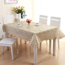 Toalha de mesa retangular toalha de mesa toalha de mesa toalha de mesa de mesa de pano de mesa impermeável mancha toalha de mesa oilcloth