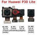 Оригинальная фронтальная и задняя камера для Huawei P30 Lite P30Lite основной фронтальный модуль камеры Flex запасные части