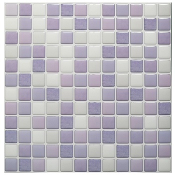 Mosaic Wall Tile Peel and Stick  Self adhesive Backsplash DIY Kitchen Bathroom Home Wall Sticker Vinyl 3D 7