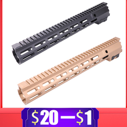 9.5 13.5 Inch MK16 Handguard Rail voor Gel Blaster Handguard voor SLR JinMing9 AEG Airsoft M4 M16 BD556 TTM Paintball Accessoires