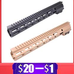 9.5 13.5 pouce MK16 Handguard Rail pour Gel Blaster Handguard pour SLR JinMing9 AEG Airsoft M4 M16 BD556 TTM Paintball accessoires