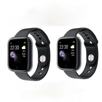 I5 Smartwatch Android IOS Smart Watch Men Women Smart Watch 2020 Blood Pressure Heart Rate Fitness Tracker Sport Music Bracelet недорого