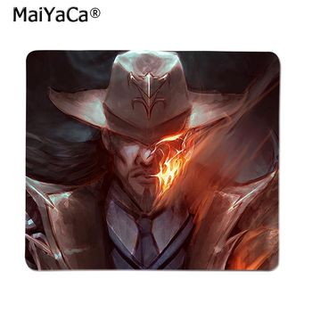 MaiYaCa Top Quality Lucian League of Legends Rubber Mouse Durable Desktop Mousepad  Top Selling Wholesale Gaming Pad mouse 2