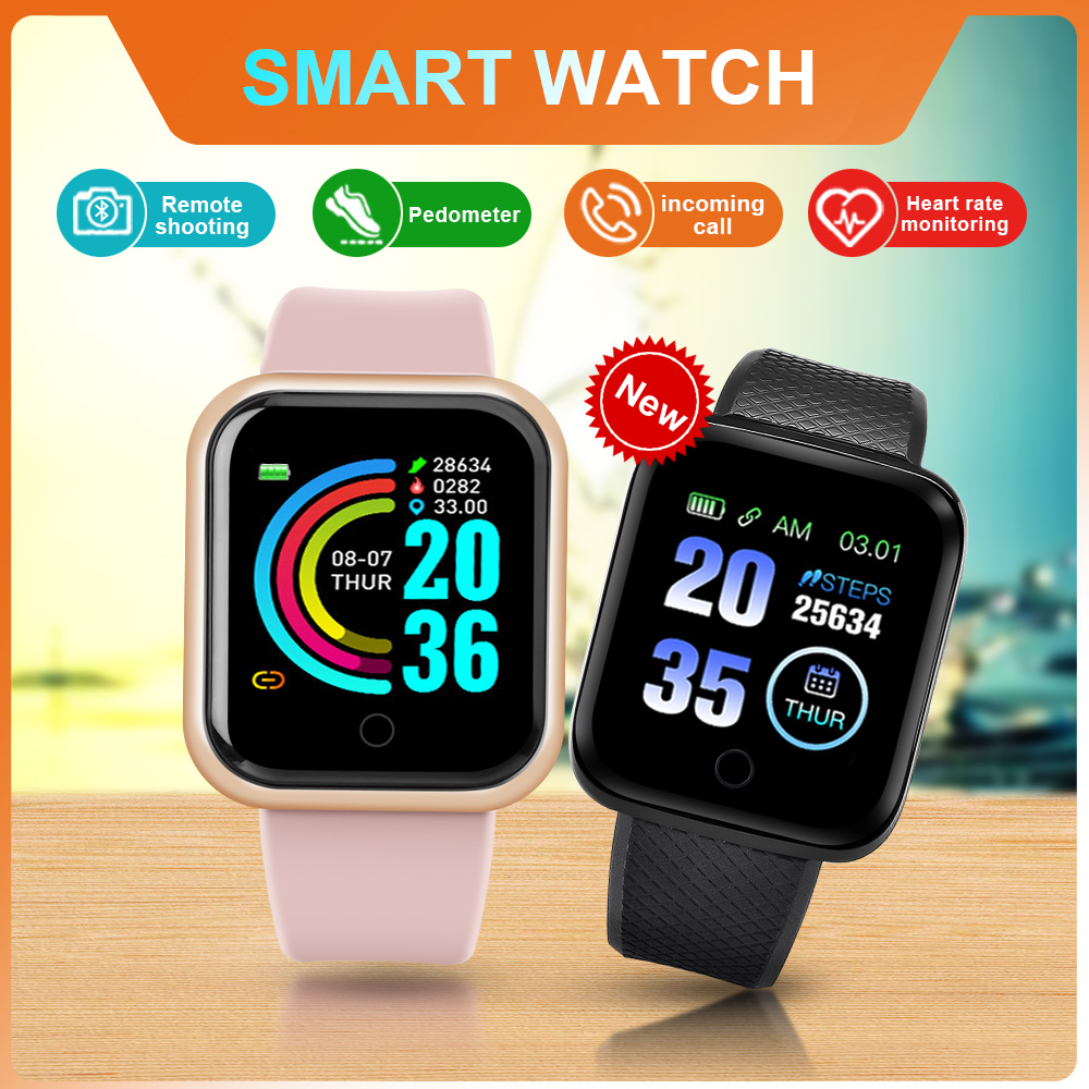 Smart Watch Android Men Women Smartwatch 2020 Heart Rate Monitor Fitness Tracker Sport Watch Smart Bracelet for iPhone Xiaomi 1