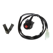 Motocross Handlebar Kill Switch On-Off Ignition Power Switches Universal for ATV Quad Buggy Pit Dirt Bike