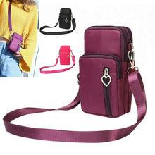 2020 Women Wallets Phone Wallet Package 3 Layers Handbag Fashion Quality Small purse For Women Money Bag Double Zipper