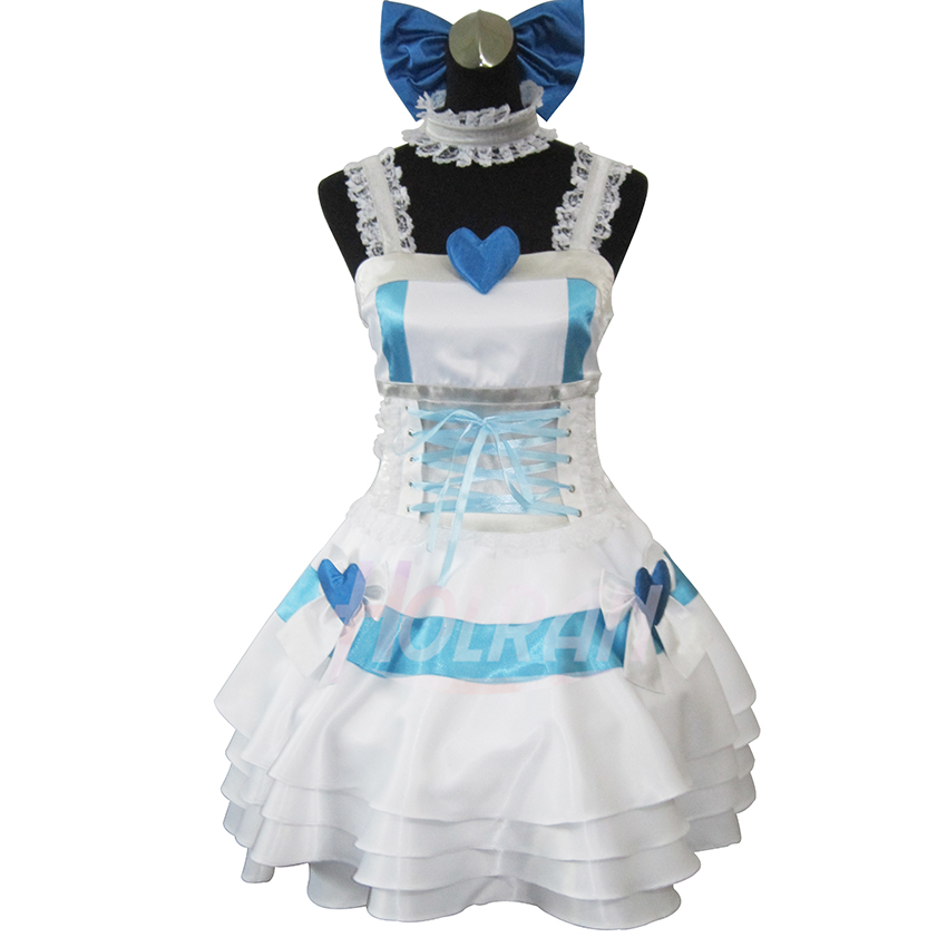 Japanese anime Panty & Stocking with Garterbelt cosplay cos uniform costume Stocking Anarchy carnival party hot sale dress