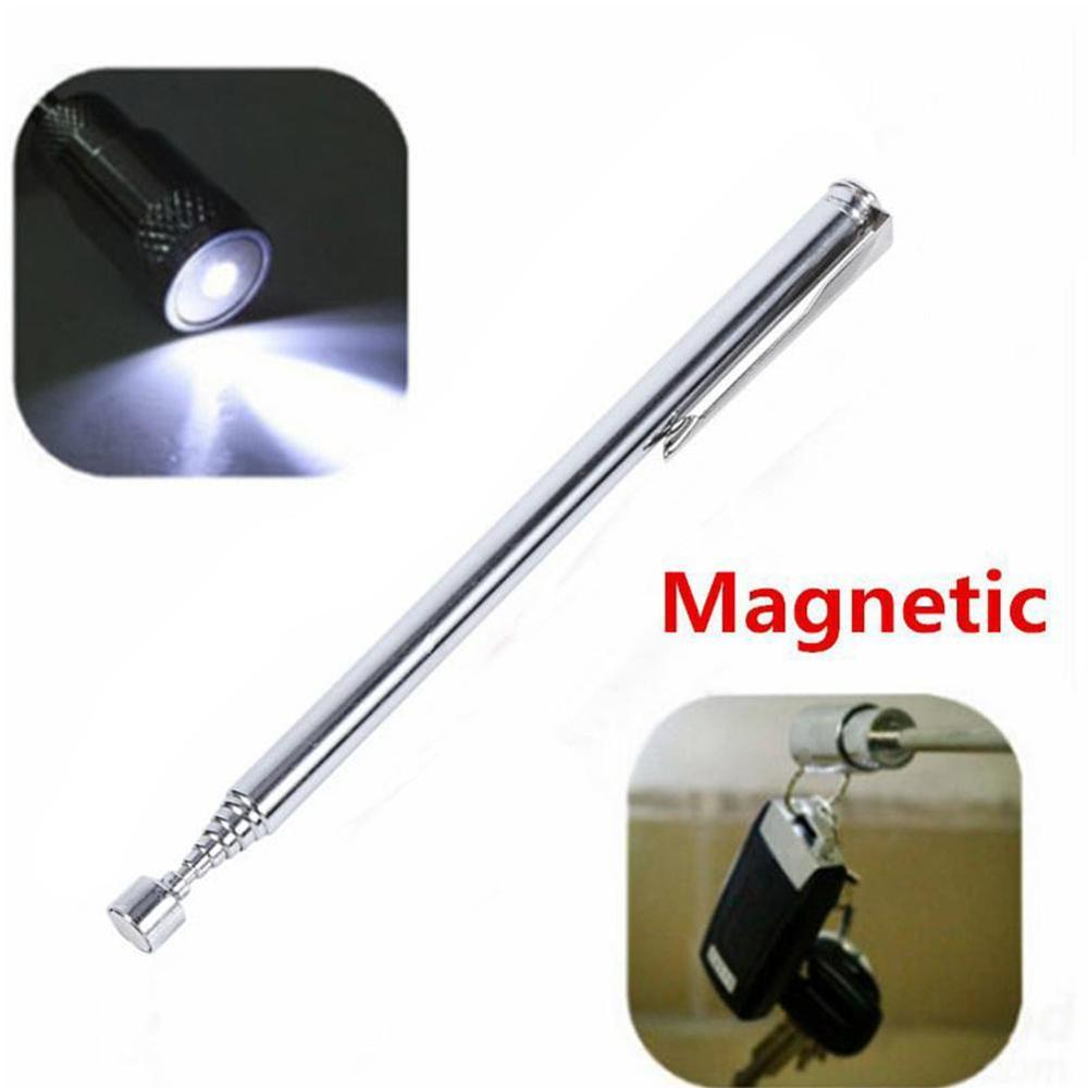 Stainless Steel Telescopic Magnetic Retractable Pickup Machine Comfortable Handle Powerful Magnetic Stick