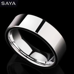 Вольфрамовый унисекс твердосплавные кольца для Aniversary/обручальные/свадебные ювелирные изделия, Размер 4-13 , по индивидуальному заказу