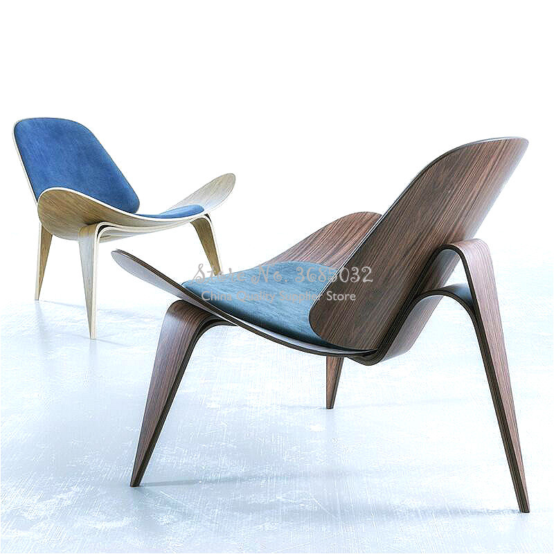 Hot Nordic Chair Insnet Red Chair Creative Simple Designer Single Sofa Chair Smile Airplane Shell Chair Dining Room Chairs