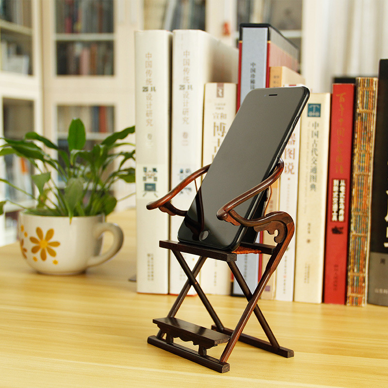 Forbidden City Cultural And Creative Customizable Father's Day Gift Practical Send Dad Business Gift Mahogany Chair Desktop Mobi