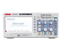 Hantek dso5202p 디지털 오실로스코프 200 mhz 대역폭 2 채널 pc usb 1gsa/s 7 인치 레코드 길이 24 k 휴대용 오실로스코프