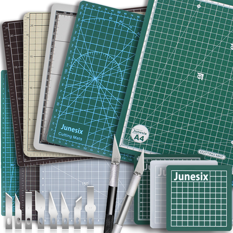 Auto cura ferramentas de corte esteira para couro retalhos costura tecido almofada de papel placa proteção giratória desktop artesanato estofando pvc