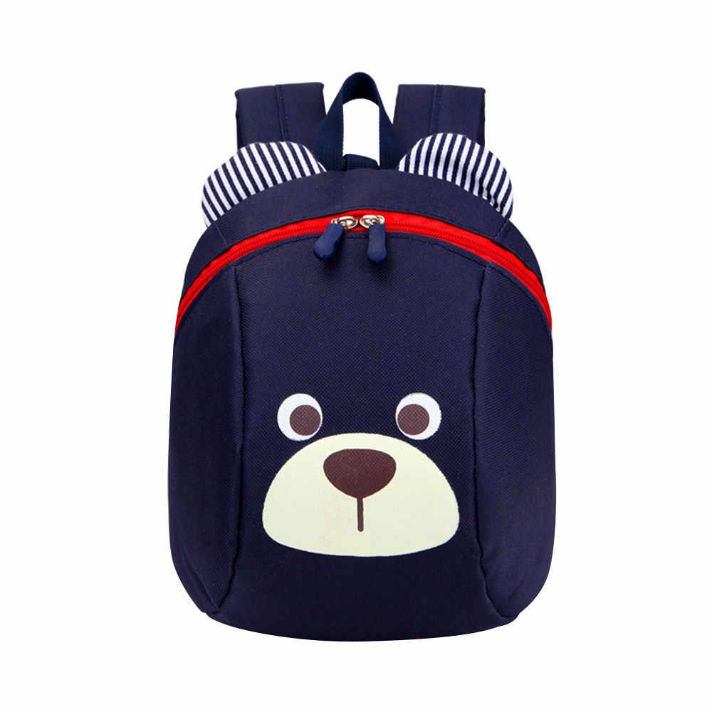 25 # Anti-perdu enfants bébé sac mignon Animal chien enfants sacs à dos sac d'école âgé de 1-3 mignon sac à dos Mochilas Escolar Mochila