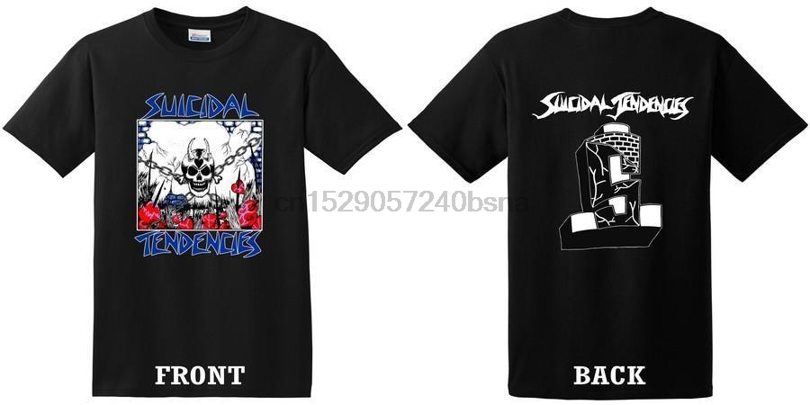 ! Suicidal Tendencies WonFall In Love Today Shirt Size S M or L Black Printed T Shirt Short Sleeve Men