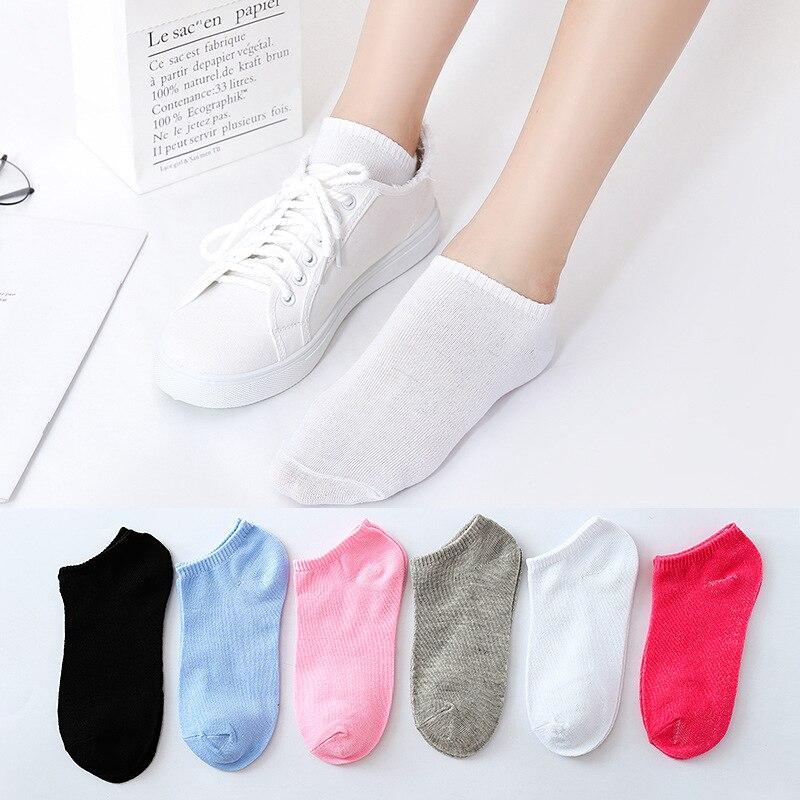 Stripe Short Socks For Women And Girls Invisible Ankle Socks Cotton Blend Comfortable Breathable Summer Socks Funny Sokken Sox