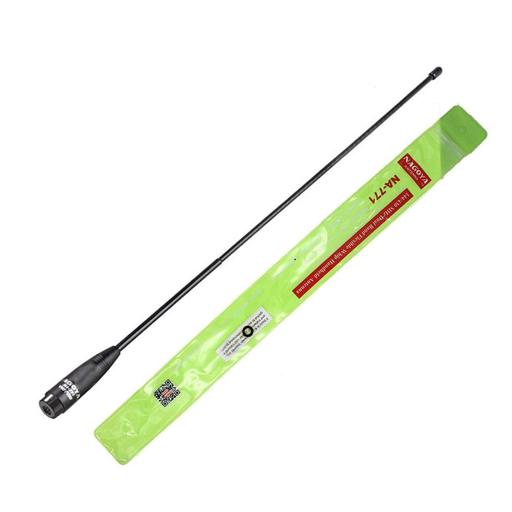 100% Original NAGOYA NA-771 SMA Male Dual Band Flexible Antenna VHF/UHF 144/430MHz Two Way Radio TYT TH-UV8000D
