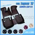 Автомобильные коврики для Jaguar XF Sedan 2008 2009 2010 2011 2012 2013 2014 2015 под заказ автомобильные накладки на ножки