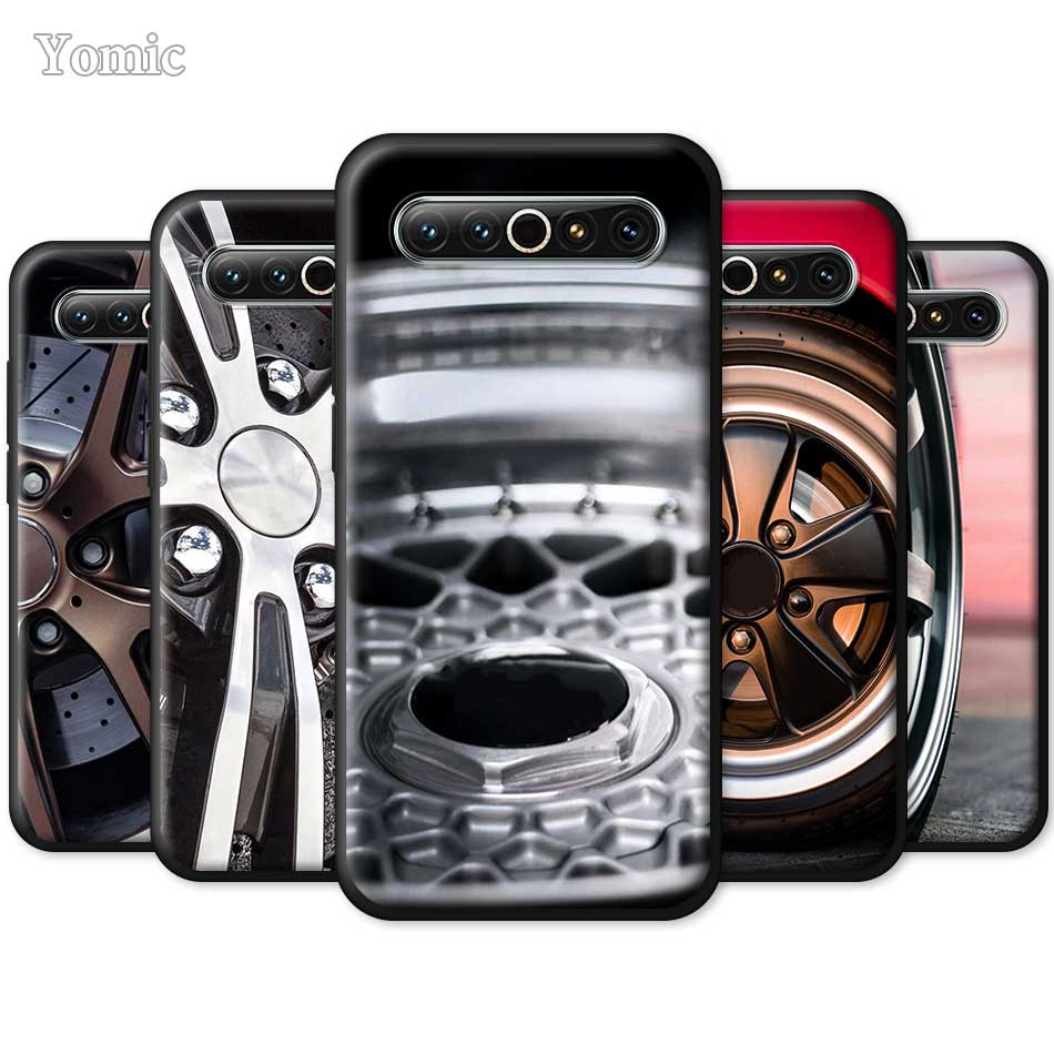 Sports Car Wheel Tire Speed Phone Case for <font><b>Meizu</b></font> 17 16s <font><b>Pro</b></font> 16T 16Xs 16th <font><b>16</b></font> M6 TPU Black Silicone Cover Soft Shell Bumper image