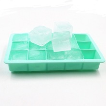Ice-Tray Food-Grade Mold Kitchen-Bar-Accessories Square-Shape Silicone Home with Lid