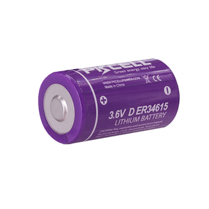 Image 2 - 4Pcs PKCELL 19ah ER34615 34615 3,6 V Größe 34,2X61,5mm 19000MAH Nicht wiederaufladbare D LiSOCl2 batterien lithium batteriesfor 10 jahre