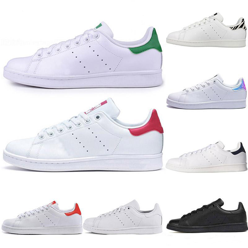 2020 Smith Running Shoes Cheap Raf Simons Stan Smiths Spring Copper White Pink Black Fashion Men Leather Brand Women Sneaker