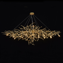 Phube Lighting Artistic Branches Crystal Chandeliers Light Water Drops Chandelier Light Colored Glazed Salon included lampshade