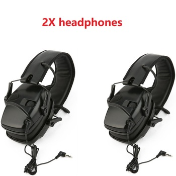 Tactical hunting headphones anti-noise impact sound amplification electronic shooting hearing protection noise reduction headset