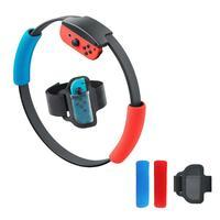 Switch ring fit adventure replacements 경량 조절 식 내마모성 탄성 스포츠 스트랩 조정 가능한 다리 밴드