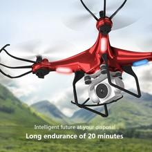 X52 Drone HD 1080PWifi transmisja fpv quadcopter PTZ wysokie ciśnienie stabilna wysokość helikopter rc dron z kamerą drony tanie tanio CEVENNESFE Z tworzywa sztucznego 30day 4x1 5vaa 32x32x12cm Silnik szczotki Batteries Operating Instructions Charger Remote Controller