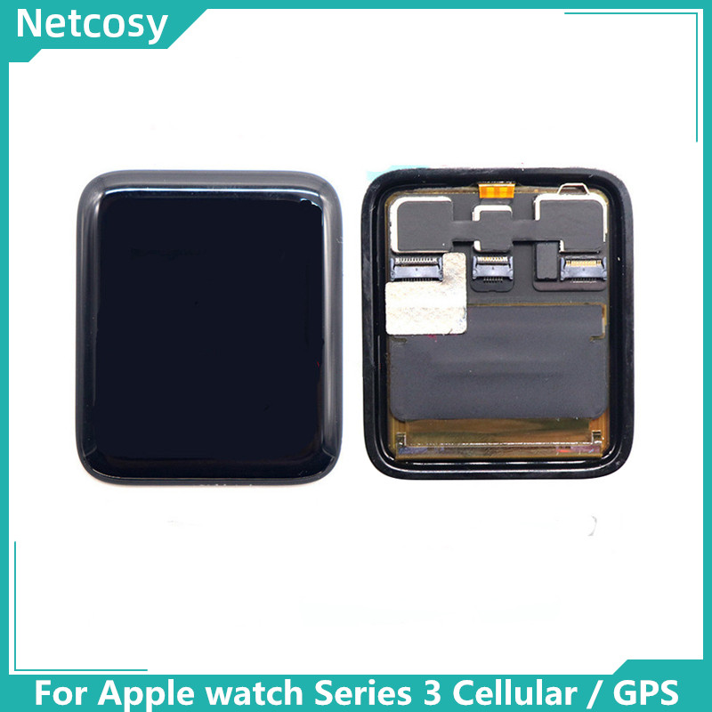 LCD Display Touch Screen Digitizer Panel Assembly Replacement For <font><b>Apple</b></font> <font><b>watch</b></font> <font><b>Series</b></font> <font><b>3</b></font> 38mm / <font><b>42mm</b></font> Cellular <font><b>GPS</b></font> LCD Screen image