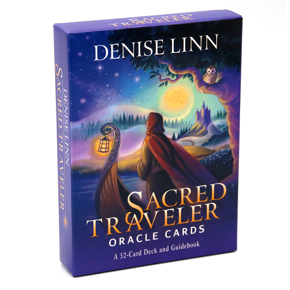Sacred Traveler Oracle Cards A 52-Card Deck And Guidebook