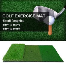 30X60cm Golf Practice Mat Artificial Lawn Nylon Grass Rubber Tee Backyard Outdoor Golf Hitting Mat Durable Training Pad
