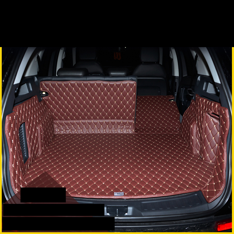 lsrtw2017 fiber leather car trunk mat for rang rover discovery sport 2014 2015 2016 2017 2018 2019 in Interior Mouldings from Automobiles Motorcycles