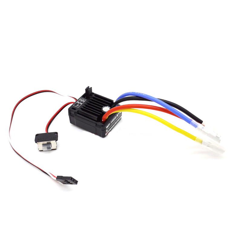 HobbyWing QuicRun 1060 RTR 60A Brushed Electronic Speed Controller ESC For 1:10 RC HSP Car Waterproof  RC Car Axial Scx10