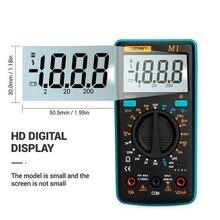 Urijk A830L แบบพกพามัลติมิเตอร์แบบดิจิตอล AC/DC Ammeter โวลต์มิเตอร์ OHM Handheld LCD Multimetr